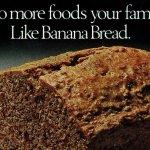 Banana bread with bran vintage recipe (3)