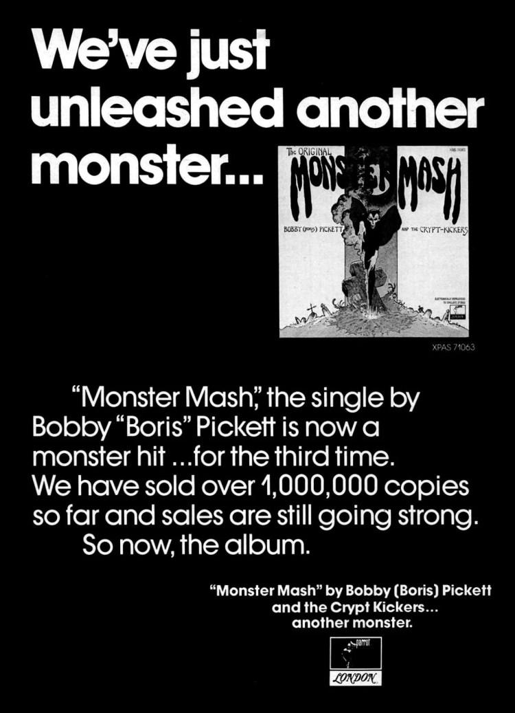Billboard Sep 8, 1973 Monster Mash
