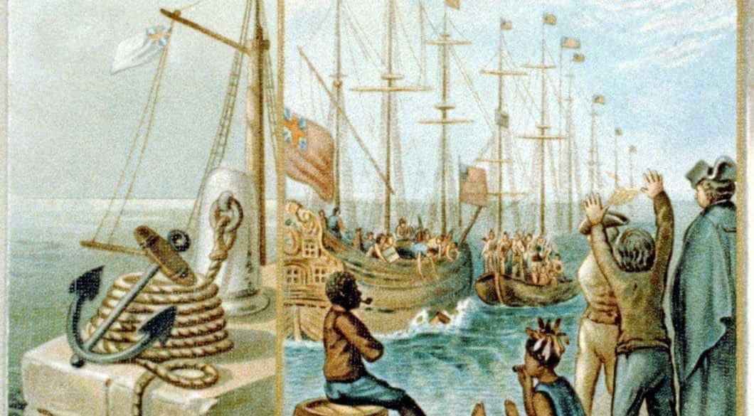 Boston tea-party Three cargoes of tea destroyed. Dec. 16, 1773