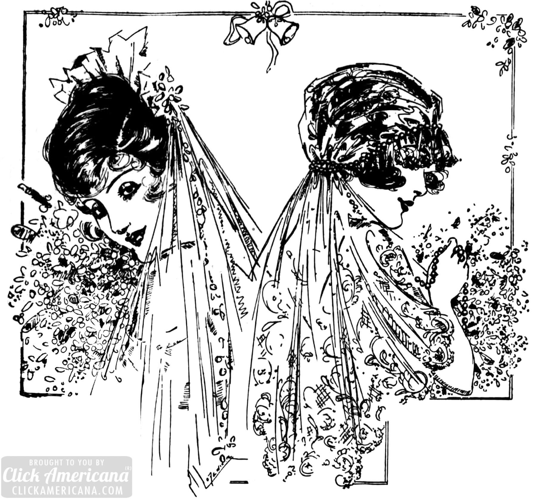 vintage wedding dresses for stylish brides from 1914