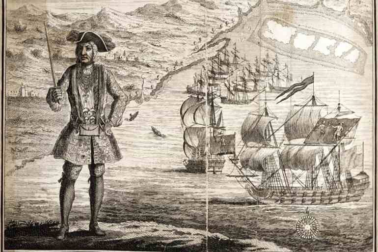 Captain Bartho. Roberts with two ships, Viz. the Royal Fortune and Ranger 1721