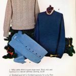 Retro cable-stitch and Shetland wool sweaters, plus wool cardigans