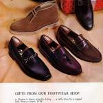 Retro classic shoes for men - wing tip styling, boots, moccasins