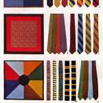 Gift ties and silk squares - including Christian Dior ties in pure silk from 1968