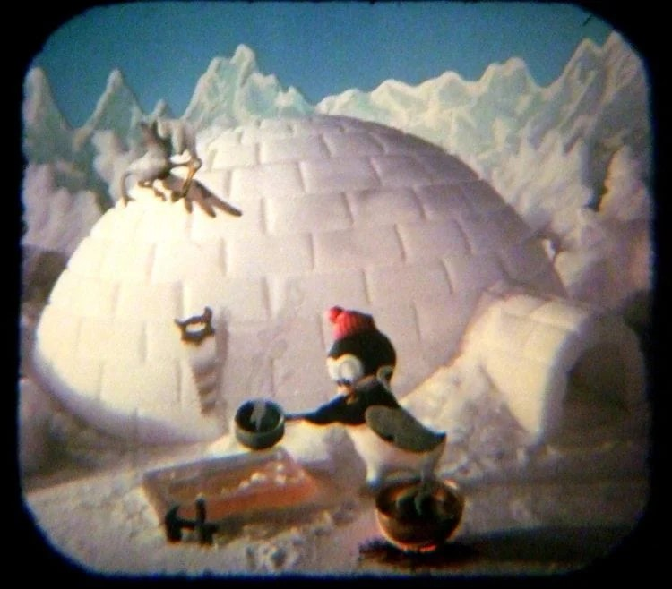 Chilly Willy's Igloo Vintage View-Master reels