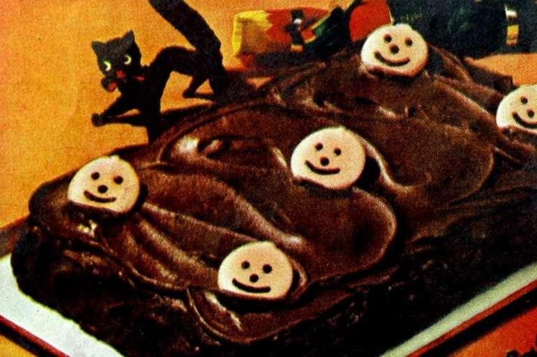 Choc-o-Lantern Halloween cake recipe for Halloween