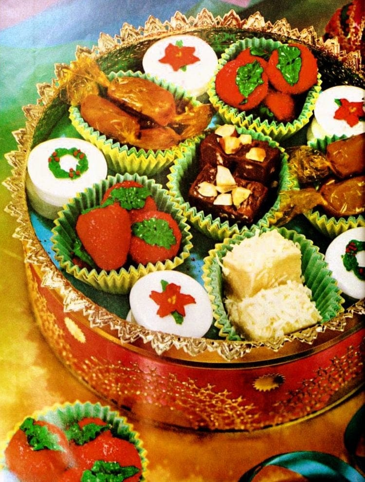 Christmas sweets: Homemade candy & fudge recipes (1960)