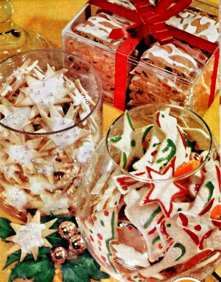 Classic Christmas cookie recipes from the '50s Sugar cookie snowflakes, paintbrush cookies, frosty fruit bars (3)