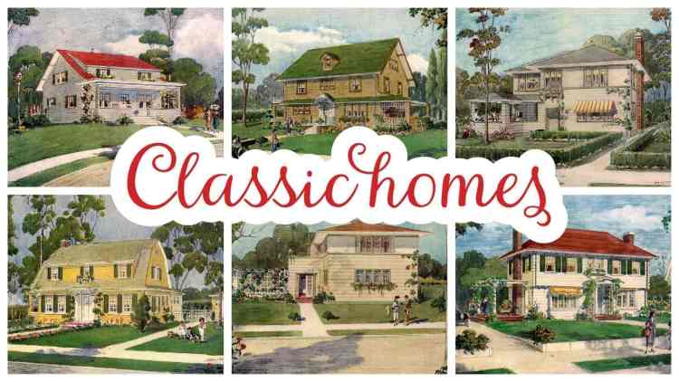 Classic homes from 1919