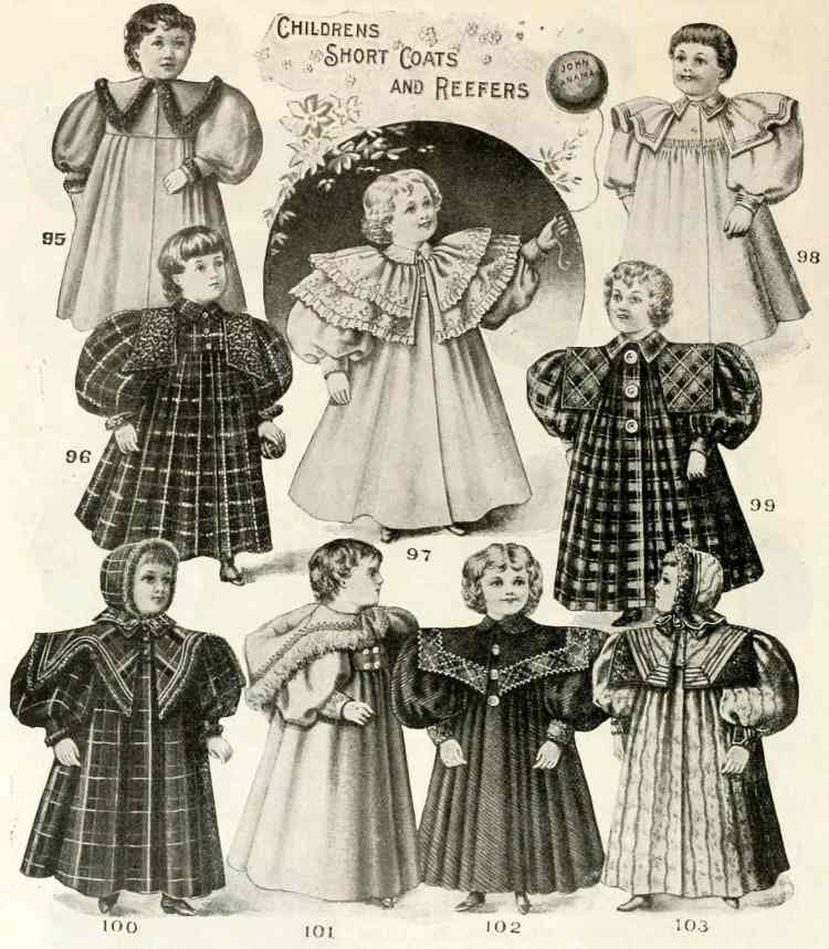 Clothes for kids from Wanamakers - 1896 (1)