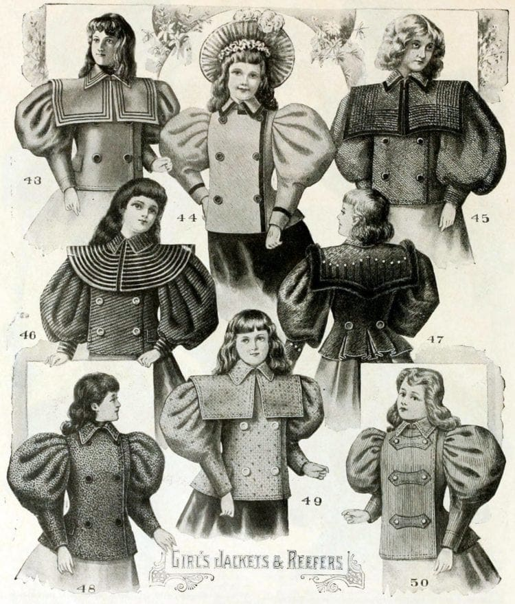 Clothes for kids from Wanamakers - 1896 (2)