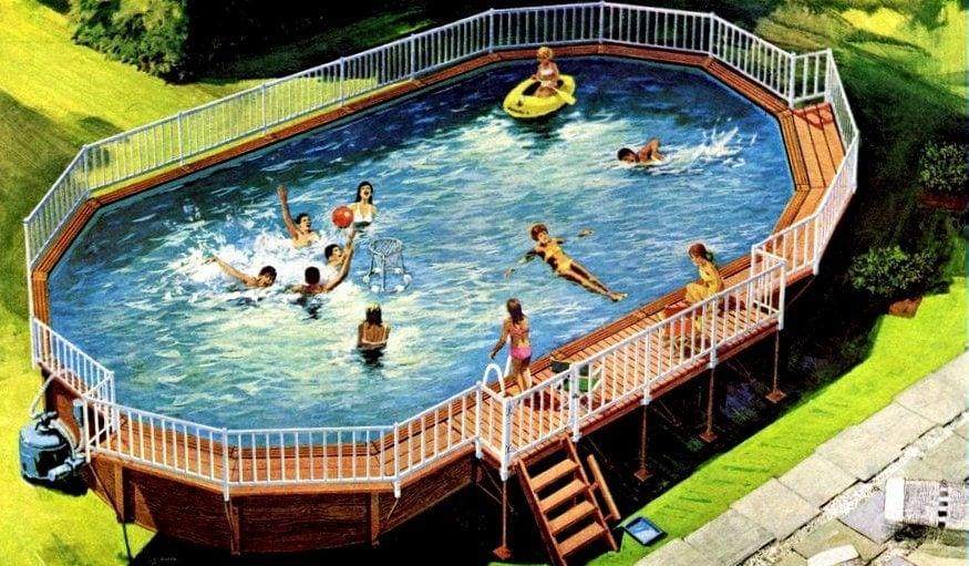 above ground swimming pool small coleco aboveground swimming pool 1970 for the backyard aboveground pools 1970