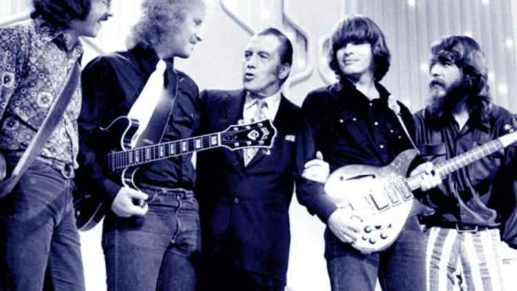 Creedence Clearwater Revival on Ed Sullivan