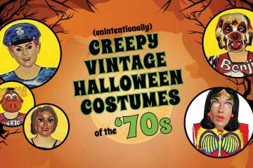 Creepy 70s Halloween costumes based on TV shows