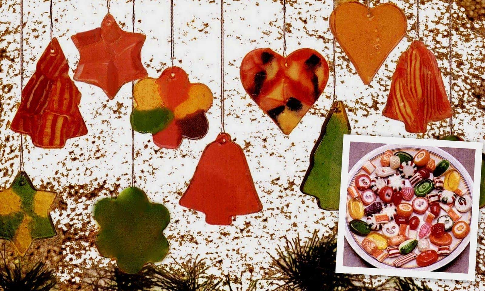 How to make DIY stained-glass Christmas ornaments from hard candy ...
