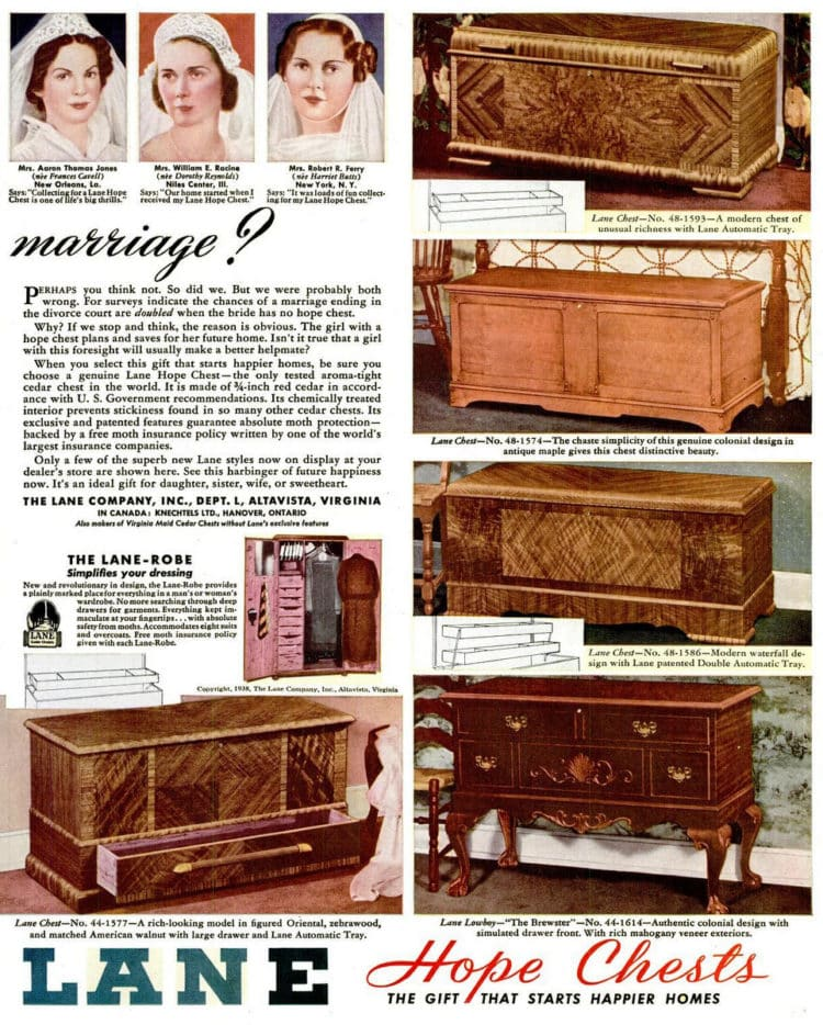 Dec 5, 1938 hope chest 2