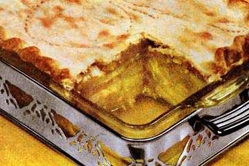 Deep-dish honey apple pie recipe (1951)
