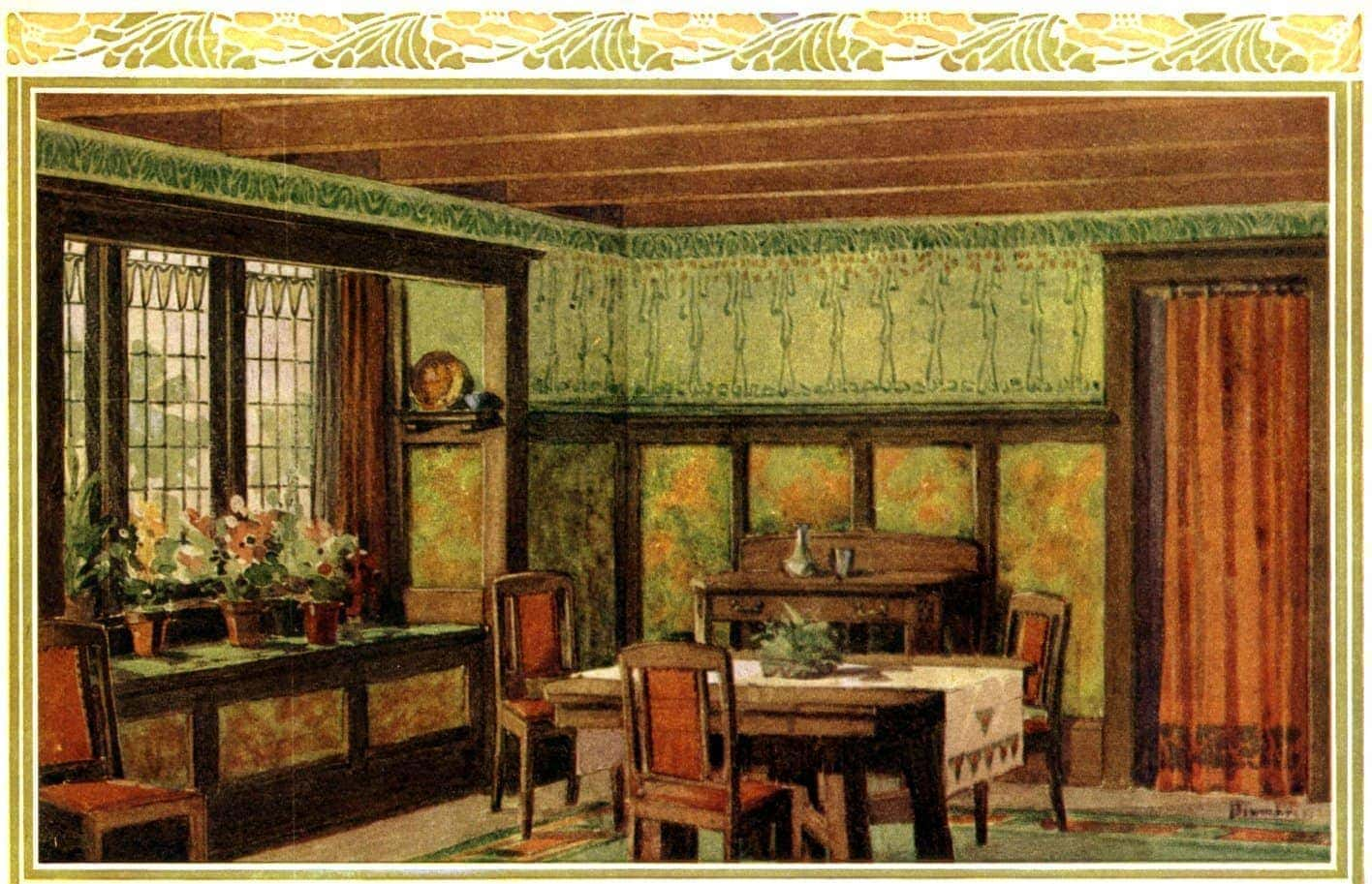 Choosing Colors Amp Patterns For Your Home 1910 Click