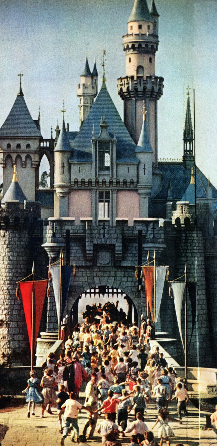 Disneyland opens - Walt Disney's magical new theme park in Southern California 1955 (5)