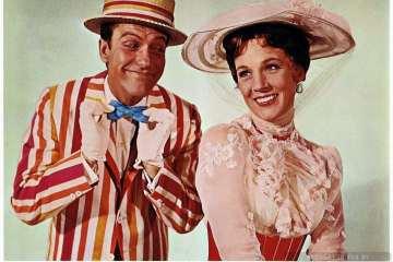 Disney's Mary Poppins movie - Dick Van Dyke and Julie Andrews