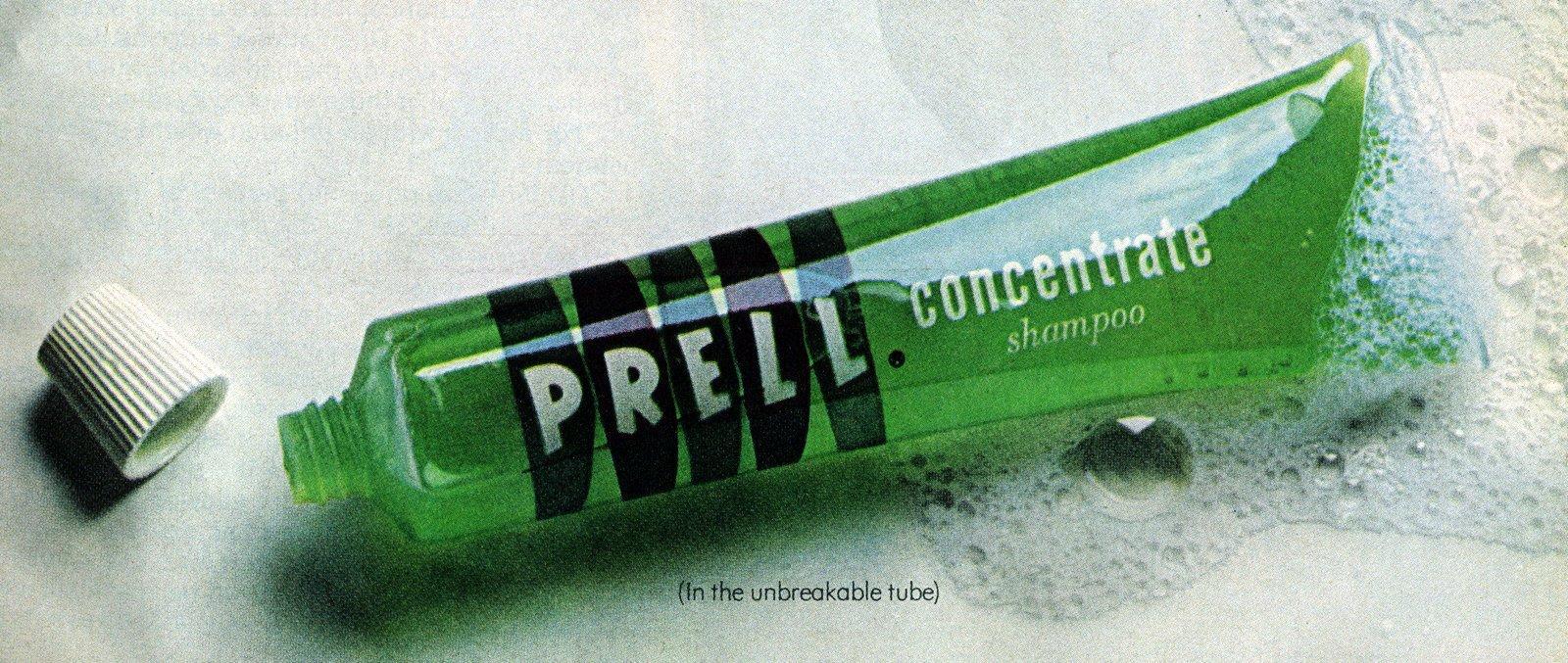 Do You Remember Bright Green Prell Shampoo Click Americana