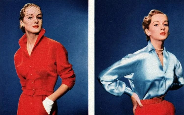 Fahions for women from the fifties