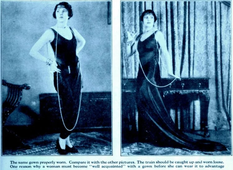 Fashion lessons from the '20s How to spoil the effect of beautiful clothes (3)