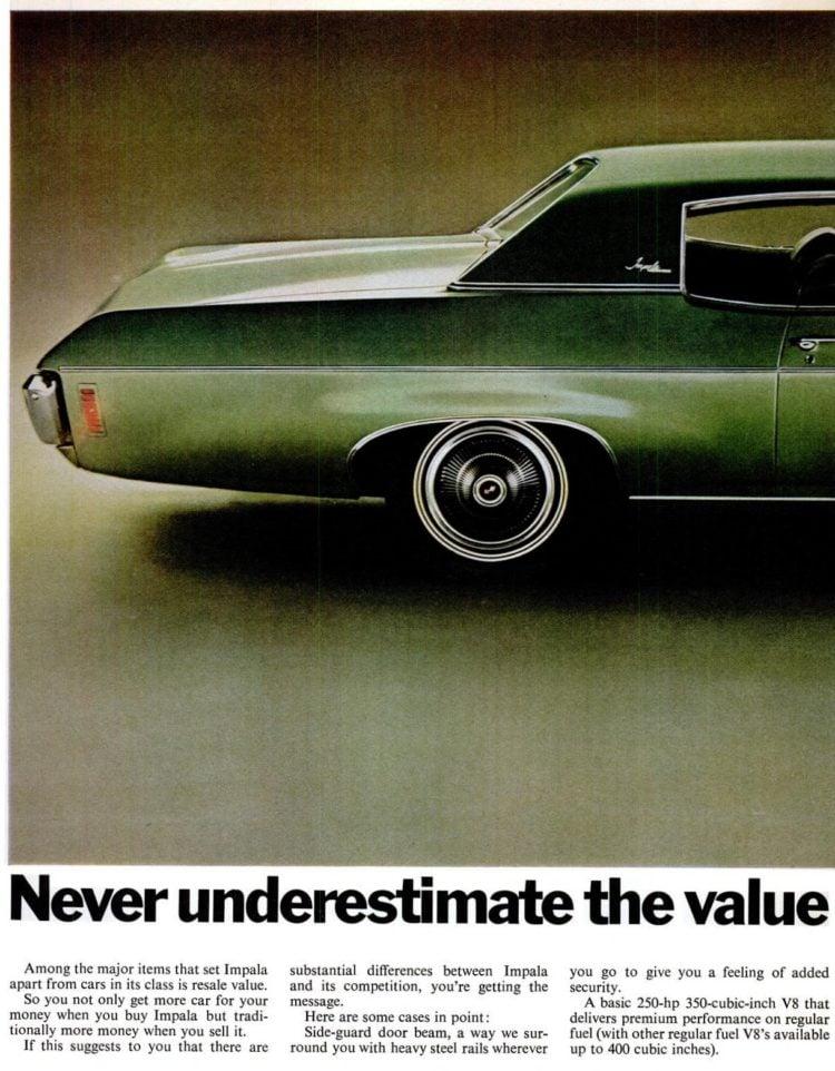 Feb 6, 1970 - Classic '70 Impala cars (2)