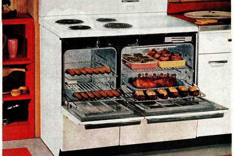 GE Deluxe Speed-Cooking ranges from 1955 (3)