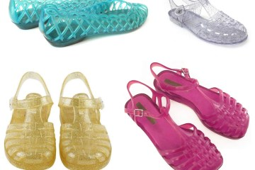 Get your jellies on! Jelly shoes are the footwear of summer (1980s)