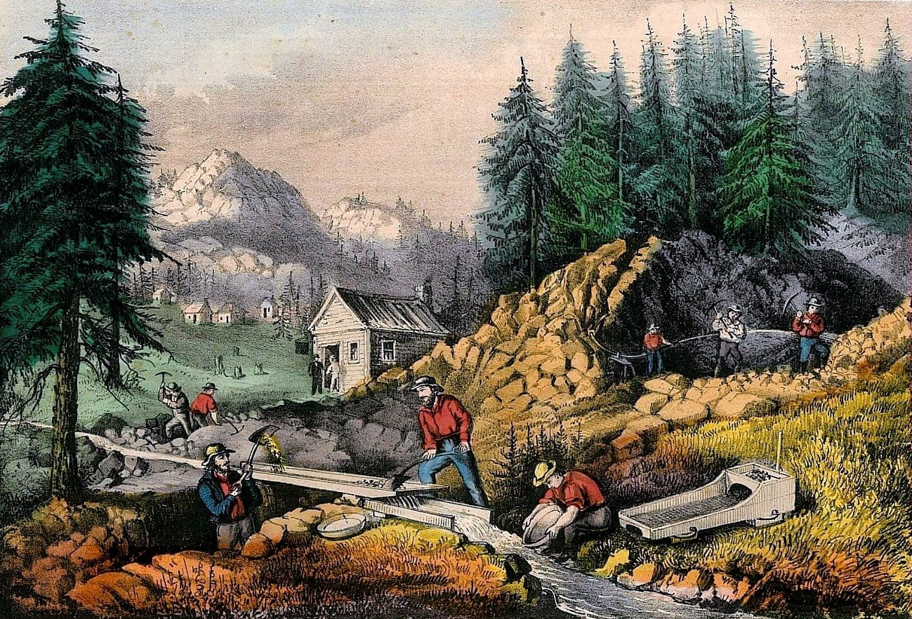 How The California Gold Rush Of Began And What Life