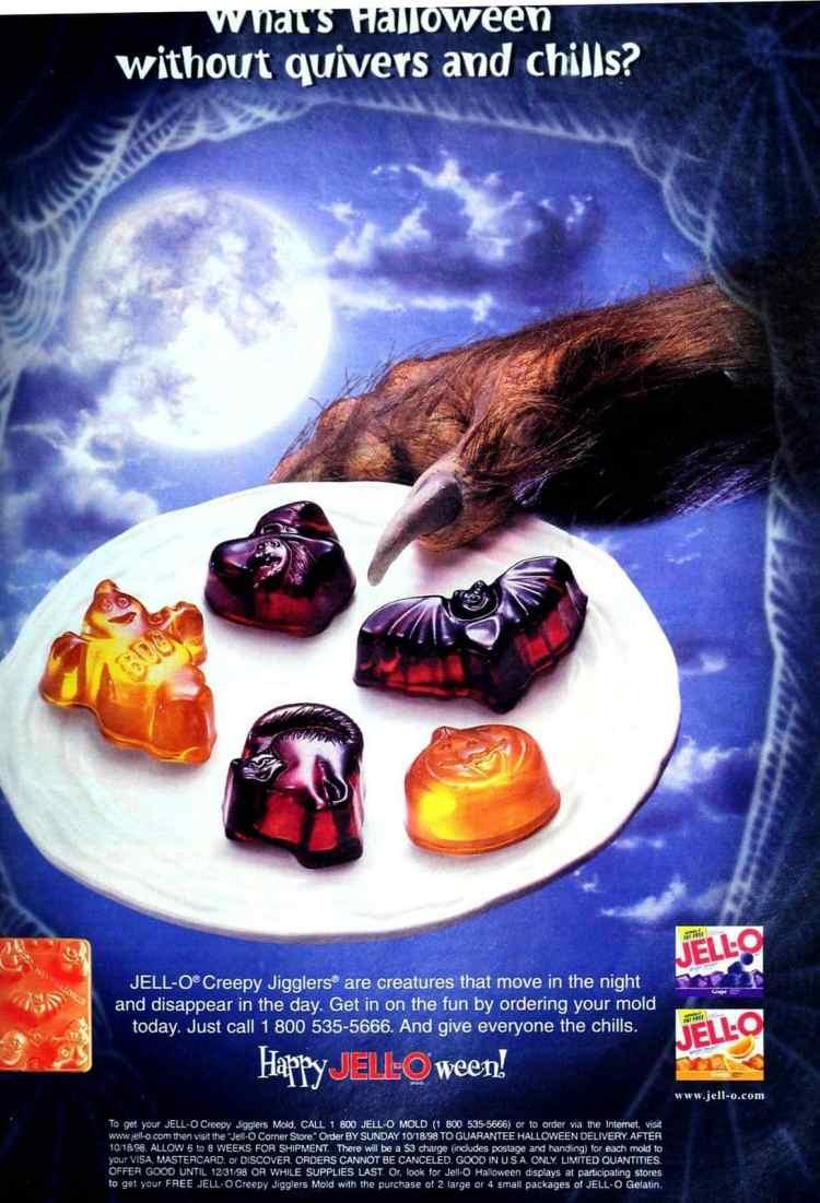Halloween Jello Jigglers 1998