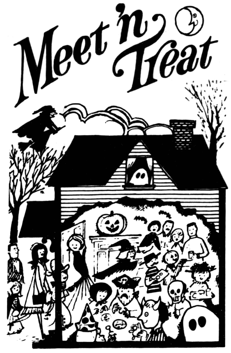 Have a safe, kid-friendly Meet 'n Treat Halloween party - 1973