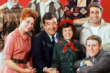 Happy Days cast 1974
