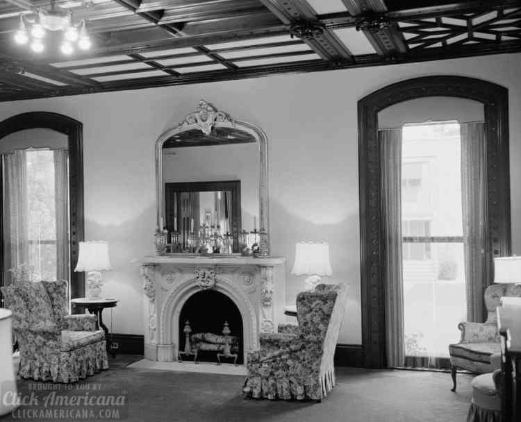 INTERIOR ROOM - Samuel Colt House, 80 Wethersfield Avenue, Hartford, Hartford County, CT