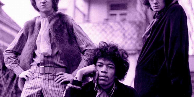 Jimi Hendrix Experience band photo