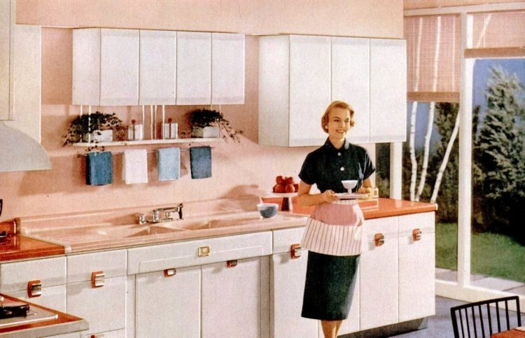 LIFE Jun 6, 1955 American Standard kitchen