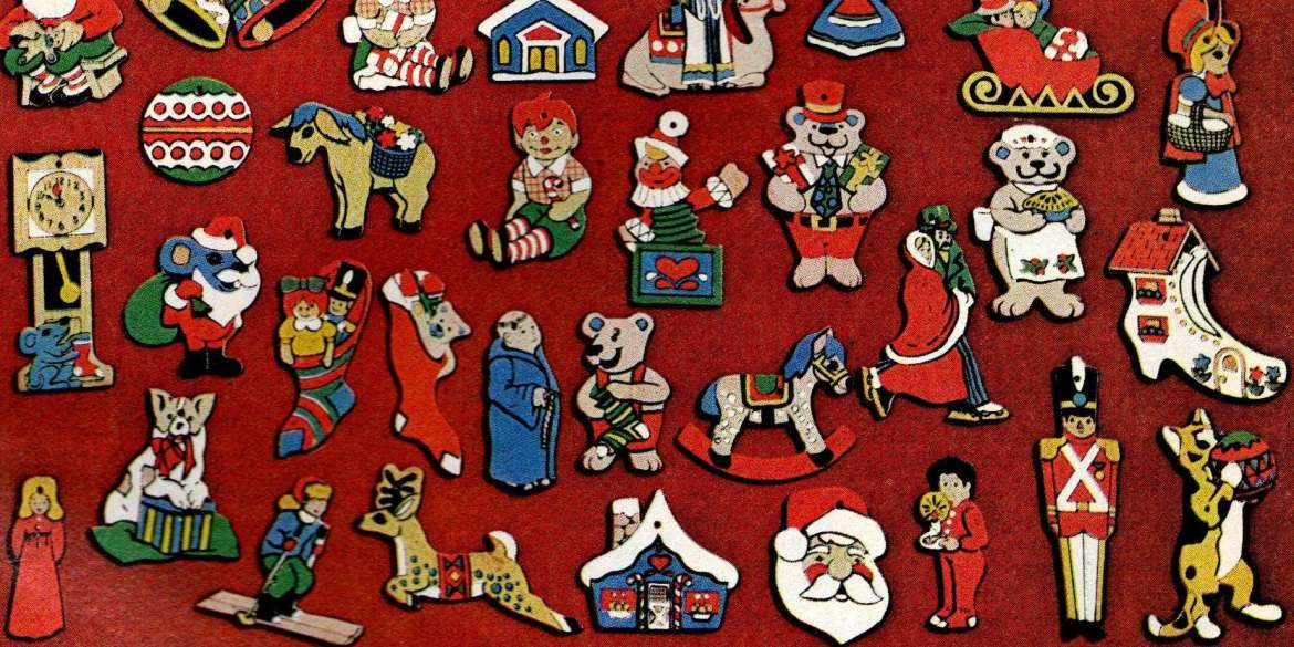 Little Christmas ornament sets from 1974 (1)