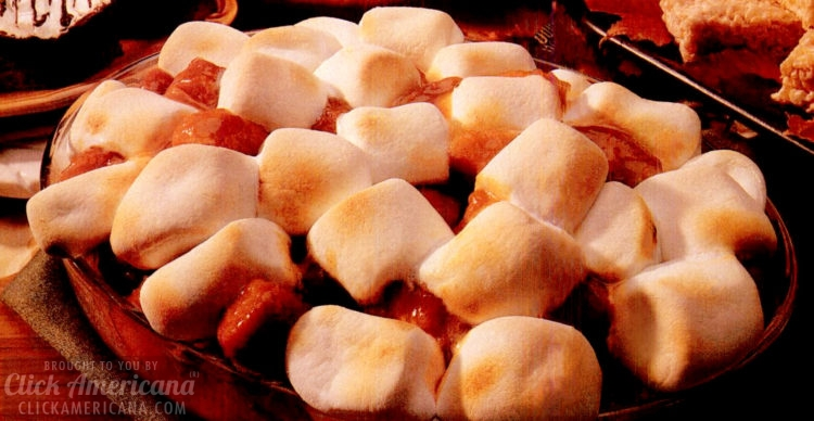 Make some old-fashioned marshmallow sweet potatoes for Thanksgiving