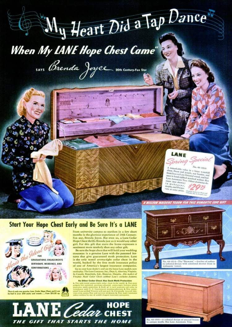 May 26, 1941 hope chest
