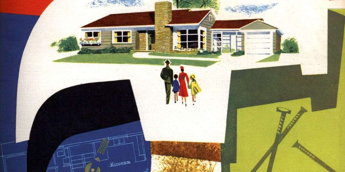 More than 110 of the original vintage house plans used for millions of 1950s suburban American homes