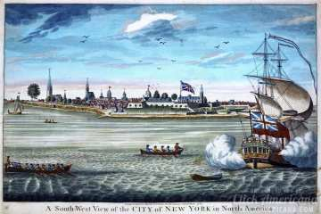 Old New Amsterdam - New York 1739