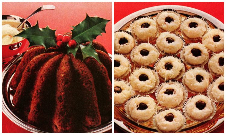 Old-fashioned Christmas desserts - recipes from the seventies