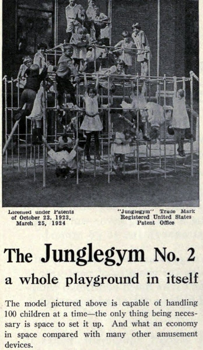 Old playground equipment from the 20s - Junglegym (3)