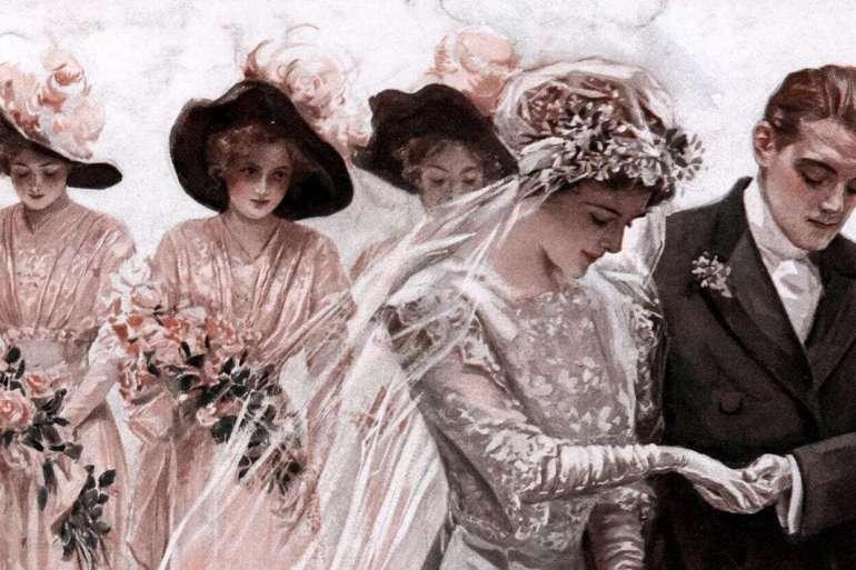Older women marrying younger men (1914)