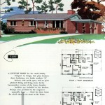 Original vintage exteriors and floor plans for American houses built in 1958 - at Click Americana (10)