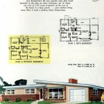 Original vintage exteriors and floor plans for American houses built in 1958 - at Click Americana (15)