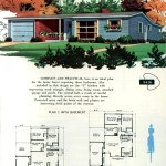 Original vintage exteriors and floor plans for American houses built in 1958 - at Click Americana (17)