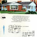 Original vintage exteriors and floor plans for American houses built in 1958 - at Click Americana (26)