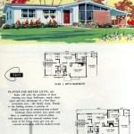 Original vintage exteriors and floor plans for American houses built in 1958 - at Click Americana (4)
